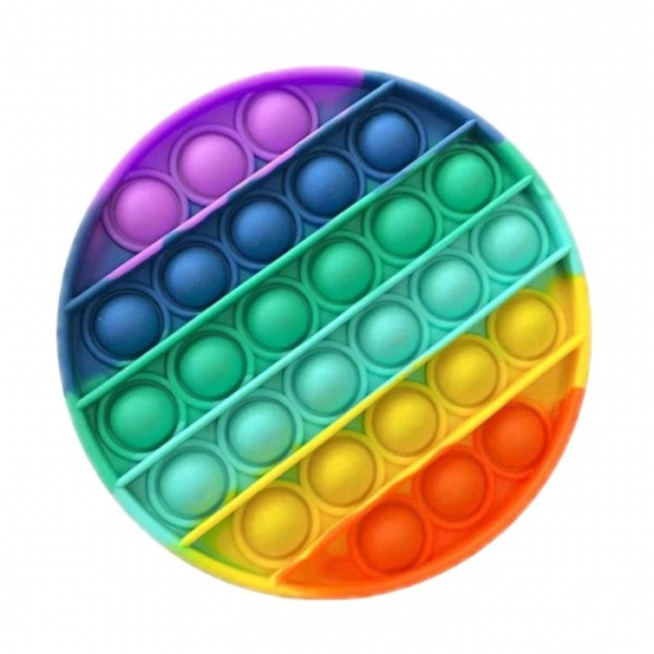 """Антистресс-игрушка пузырчатый """"Круг"""" разноцветный, d=12,5, разноцветный"""