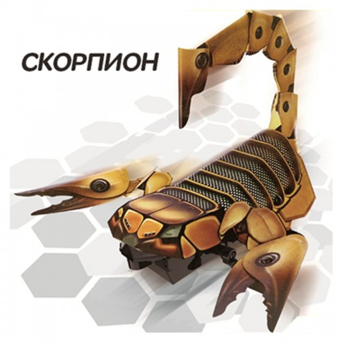 "EdiToys Конструктор Робототехника ""РОБОТ-ЖУК: Скорпион"""