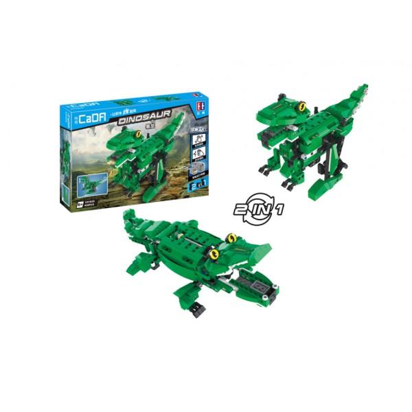 """Конструктор CaDA """"Крокодил/Динозавр"""" 450 дет."""