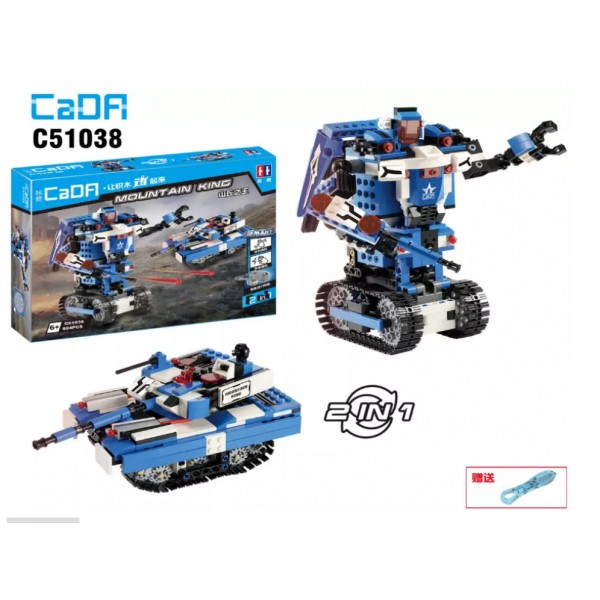 """Конструктор CaDA """"Робот 2в1"""", 380 дет."""