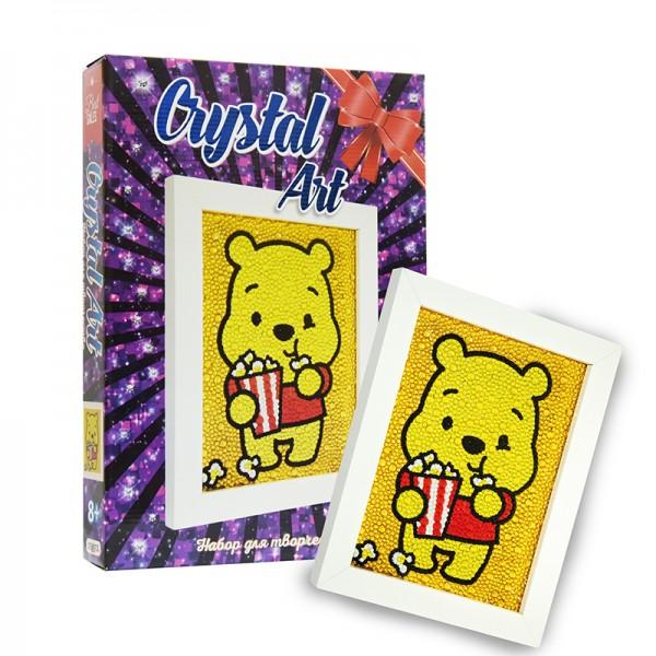 "Набор для творчества ""Crystal art"" Медвежонок"