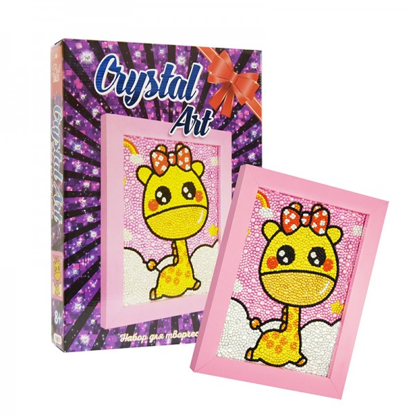 "Набор для творчества ""Crystal art"" Жираф"