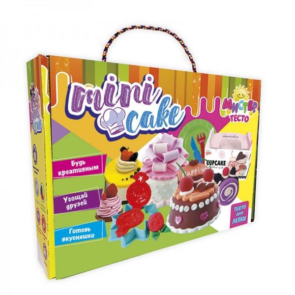 "Набор теста для лепки ""Мистер тесто - mini cake"" 71204"